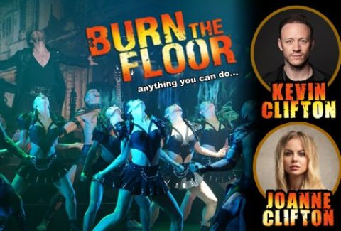 Kevin & Joanne Clifton in Burn the Floor